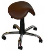 Anatomická otočná židle čalouněná
