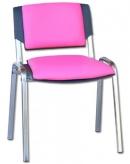 Židle čalouněná koženkou